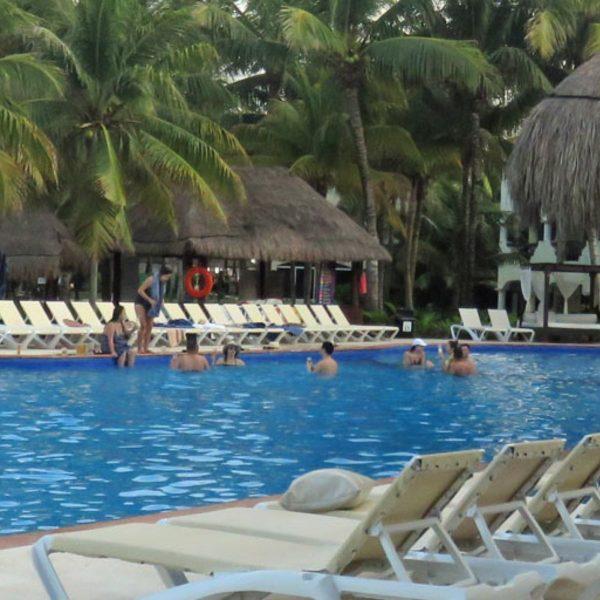 Poolside at El Dorado Casitas