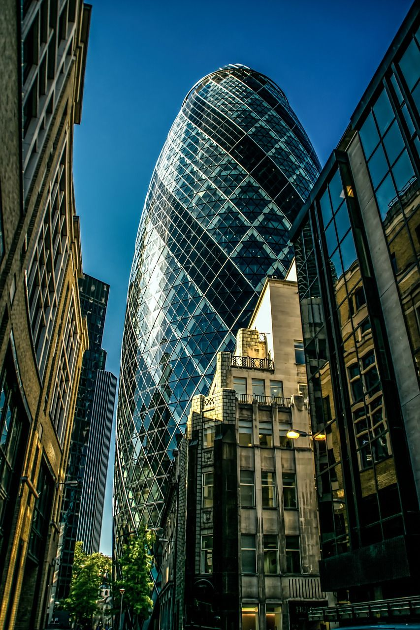 The Gherkin is one of many iconic structures you might want to visit next time you're in London