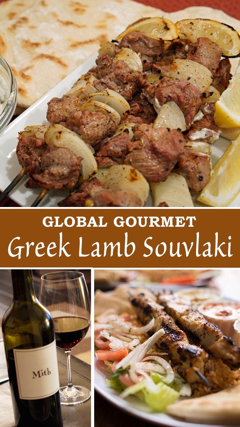 Global Gourmet: Learn how to make Greek Lamb Souvlaki at home