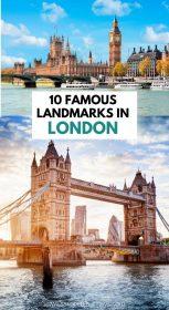 London landmarks, Tower Bridge and Big Ben