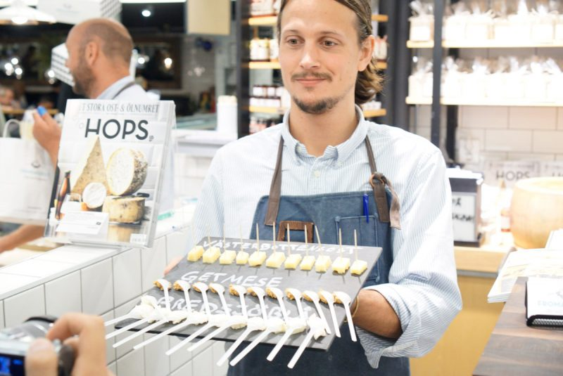 Stockholm cheese shop