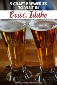 craft breweries boise