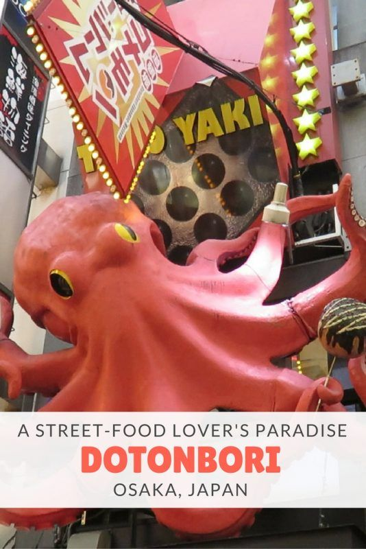 Discover the Dotonbori street food paradise in Osaka, Japan, where you'll find every Japanese food specialty.