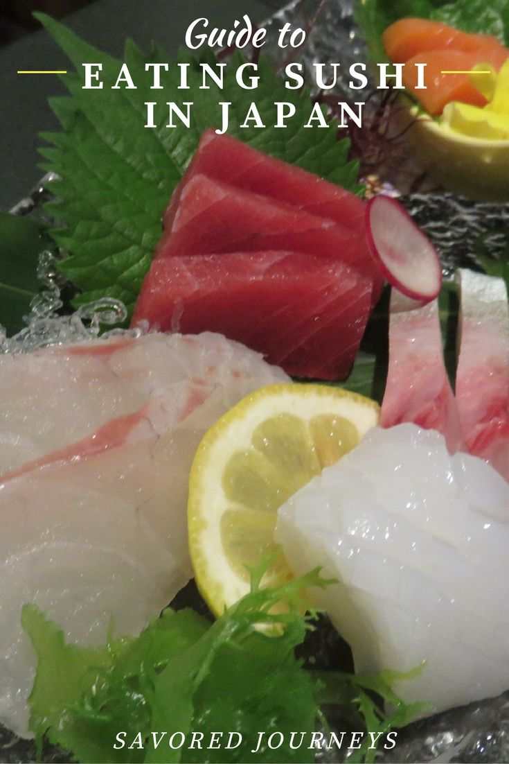 Savored Journeys' Guide to Eating Sushi in Japan