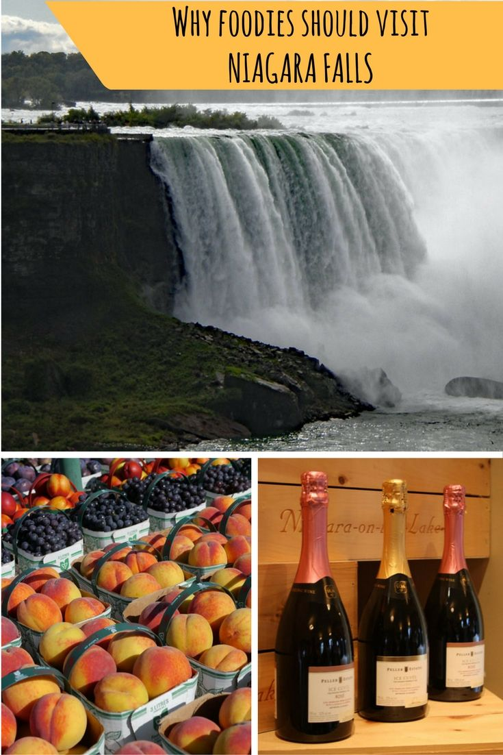 Check out the reasons we think foodies should travel to Niagara Falls