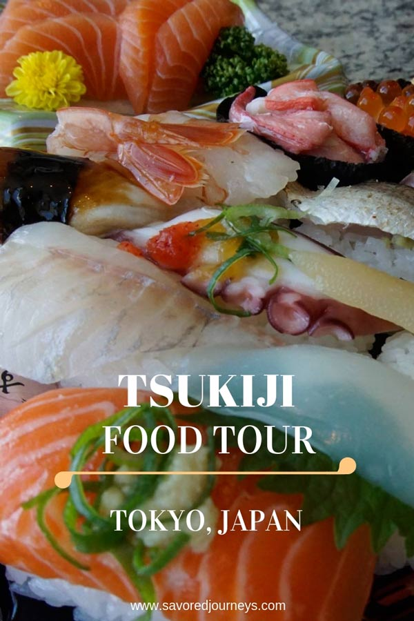 Tsukiji food tour in Japan
