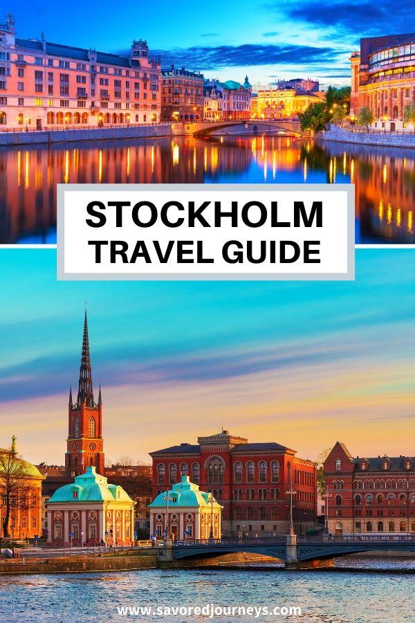 Stockholm Sweden Travel Guide