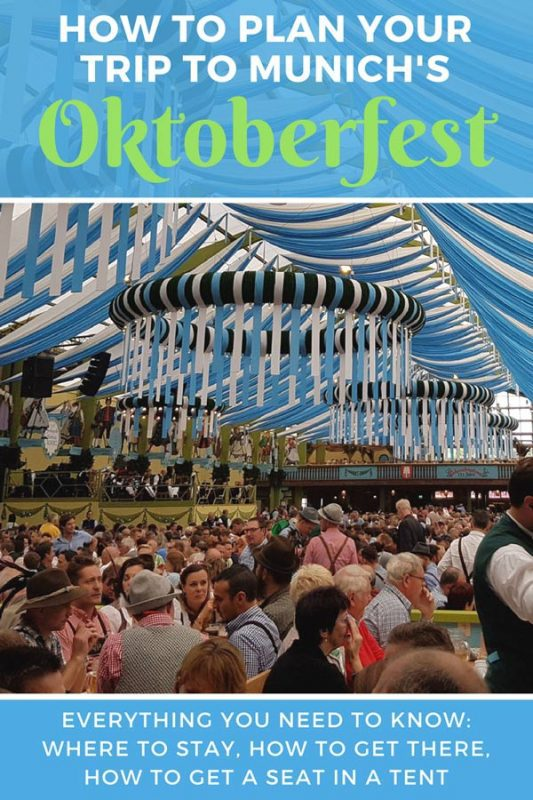Everything you need to know to plan your trip to Oktoberfest in Munich