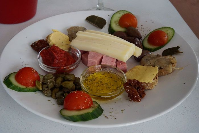 Artemis Winery prepared a lovely plate of snacks to go with our wine tasting (Photo by Savored Journeys)