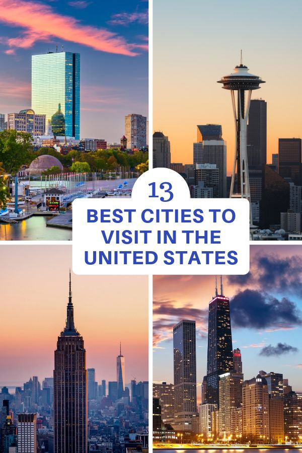 U.S. cities to visit