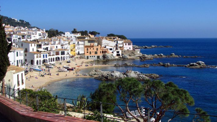 The beautiful coastline of Costa Brava, Spain
