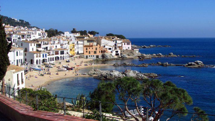 The beautiful coastline of Costa Brava, Spain