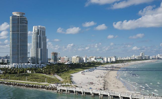 Miami beaches are one of the main draws to this vibrant U.S. city.