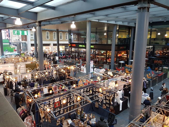 Spitalfields Market in London