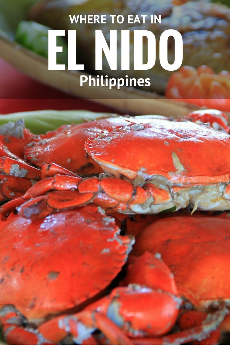 Where to eat in El Nido, Philippines