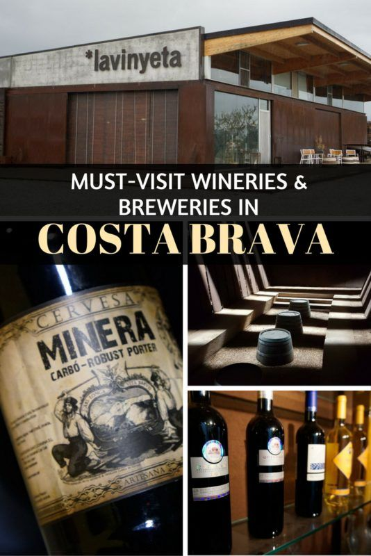 Must-Visit Wineries and Breweries in Costa Brava, in Catalonia, Spain