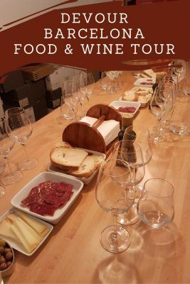 Devour Barcelona food & wine tour in Barcelona.