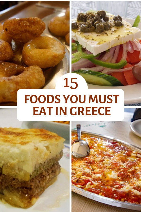 Food to Eat in Greece