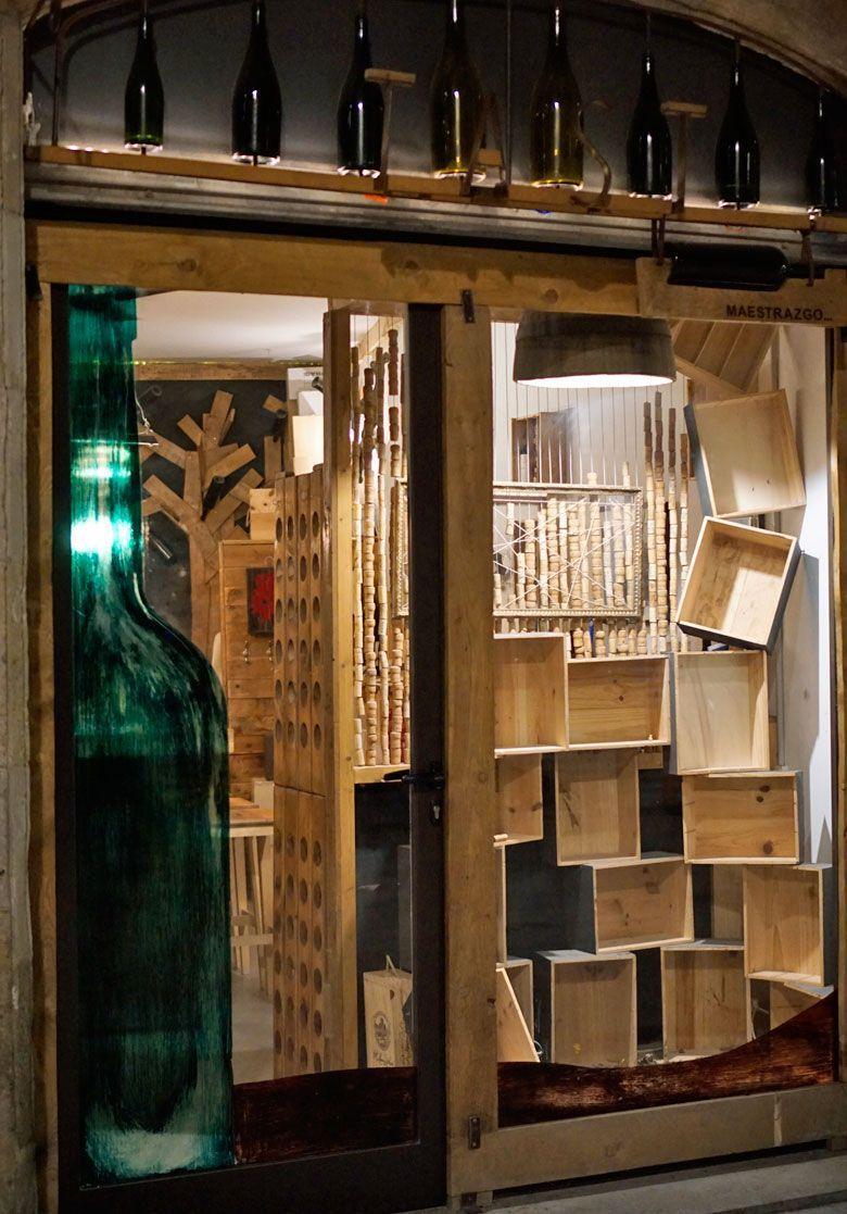 Bodega Maestrazgo's tasting room