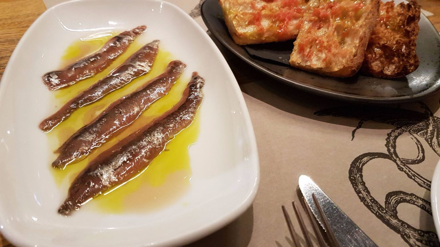 Seitons (anchovies)
