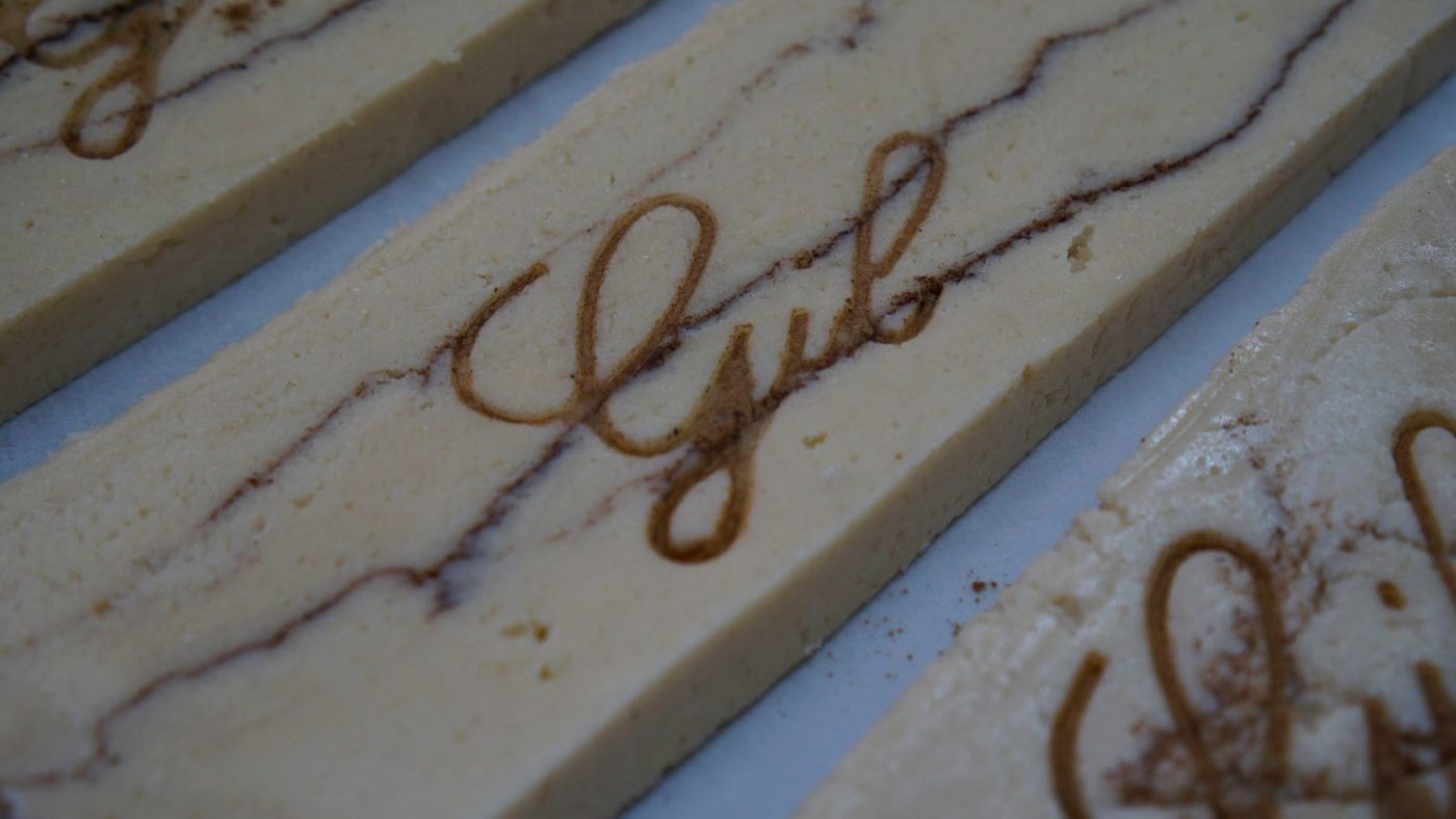Turrón (Almond dessert popular at Christmas time)