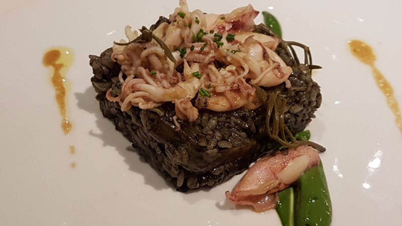 Arros Negre (Black Rice)