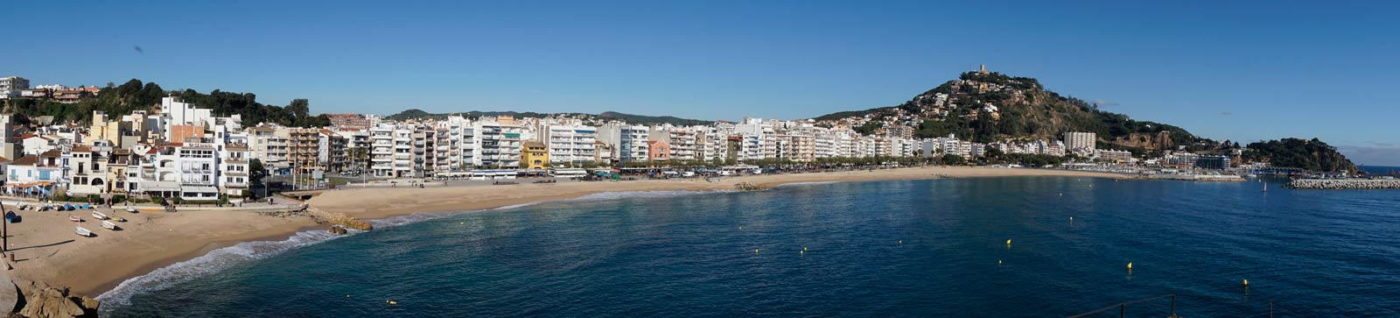 Blanes from above