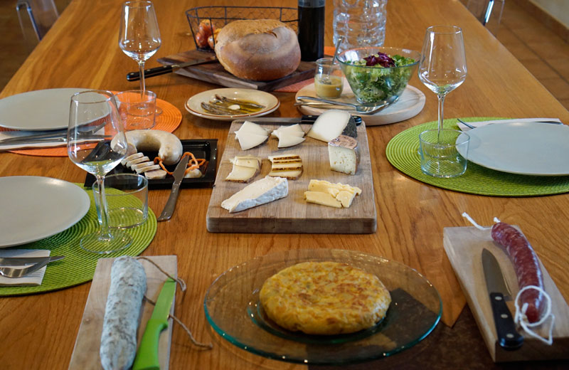 The Catalunya table