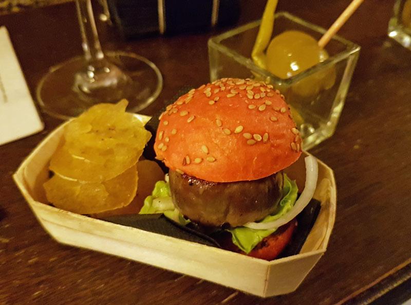 MaKobe hamburgers at A Fuego Negro