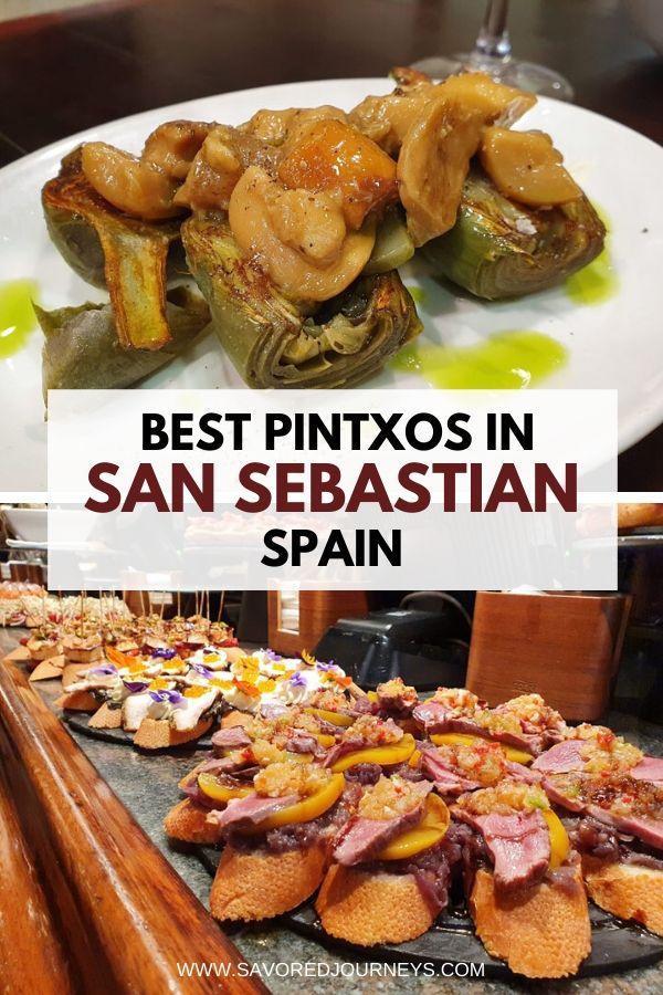 Best Pintxos in San Sebastian