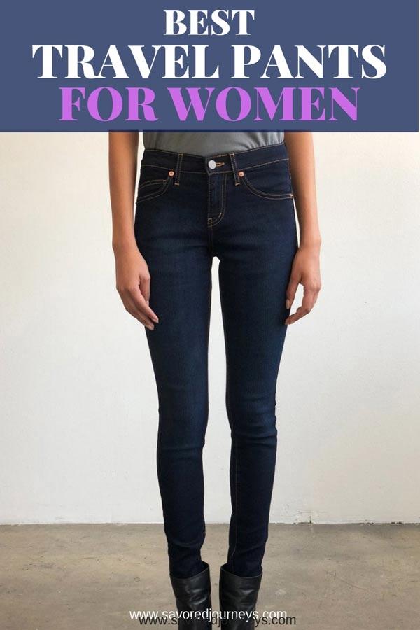 809e895a6d1d9b 6 Best Travel Pants for Women (Comfort, Style, Versatility ...