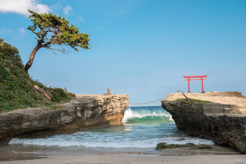 Izu Island in Japan