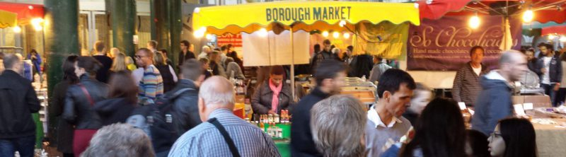 Lunch at Borough Market