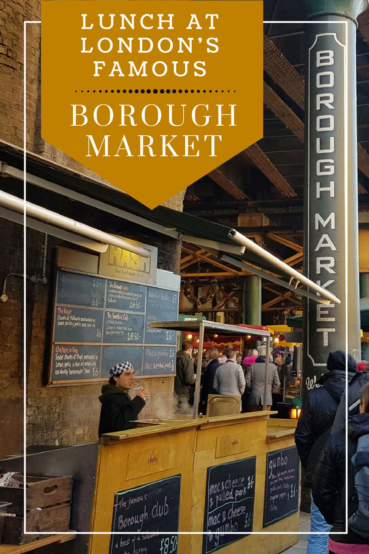 London's Borough Market is a must-visit for visitors who love food