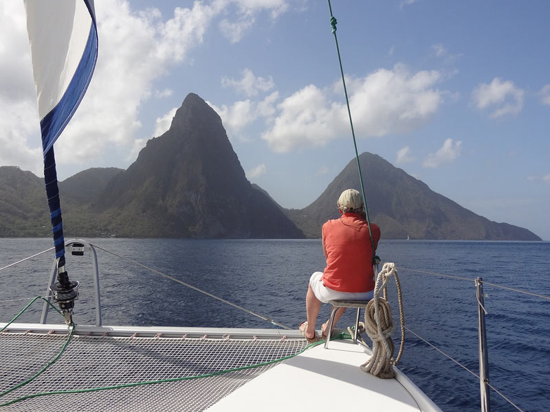Go sailing in the Caribbean
