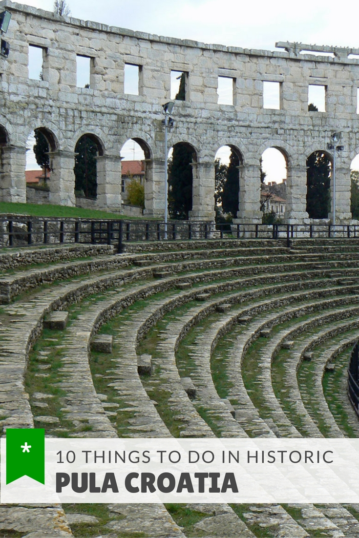 Pula is an historic and culture-rich city in Croatia. Here are the top 10 things to do in Pula