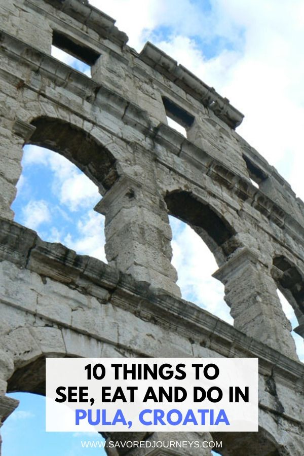 things to do in pula, croatia