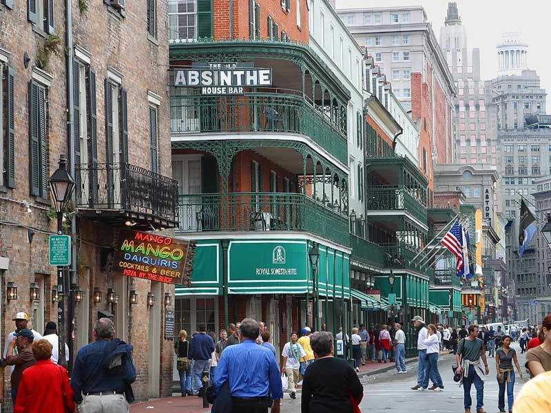 One of the top hotels in New Orleans on Bourbon Street