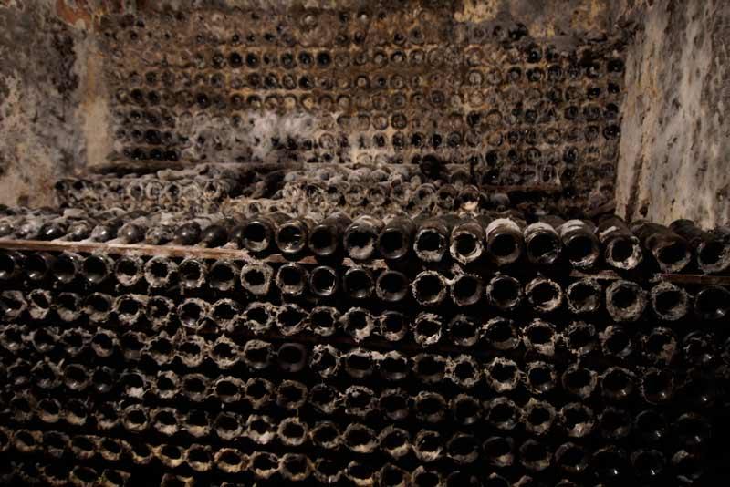 CVNE's underground cellar