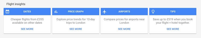 google flight insights