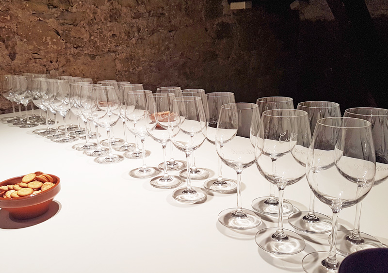 Cune wine tasting
