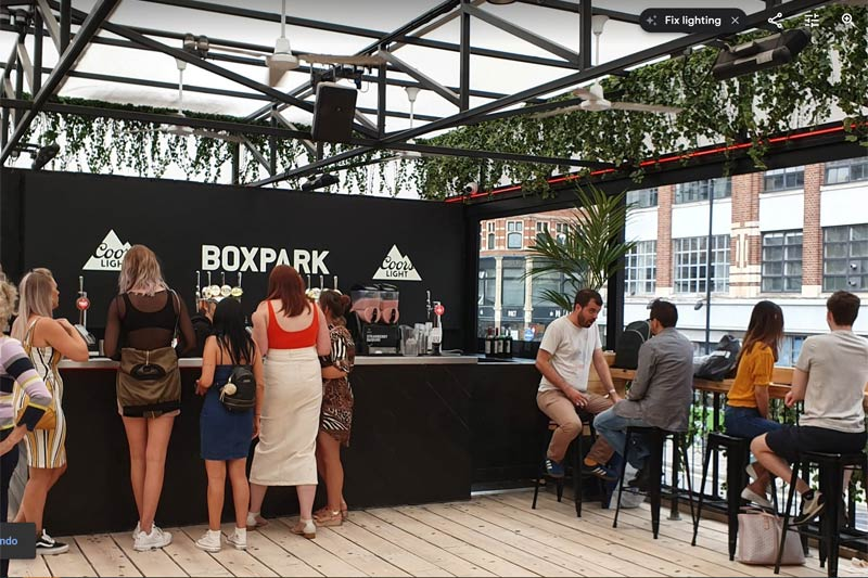 Boxpark Middle Bar