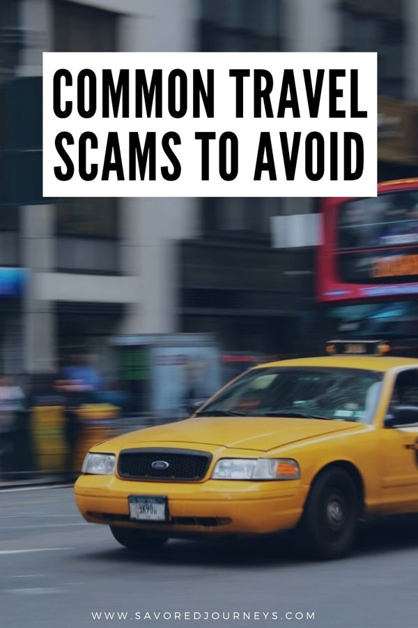 Common Travel Scams to avoid