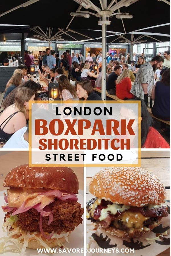 boxpark shoreditch in London