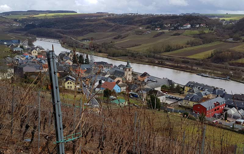 Luxembourg's Moselle Valley Wine Region