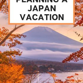 planning a japan vacation
