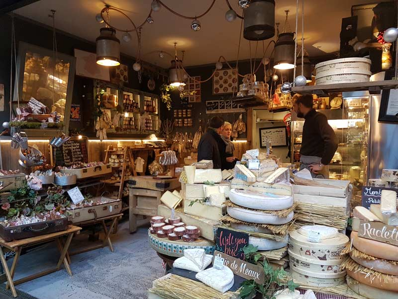 A cheese shop in Borough Market