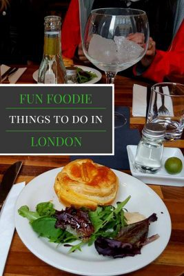 Looking for fun food activities in London? Here's a list of our favorite foodie things to do in London.
