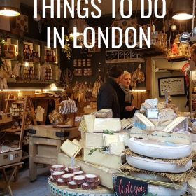 Fun foodie things to do in London