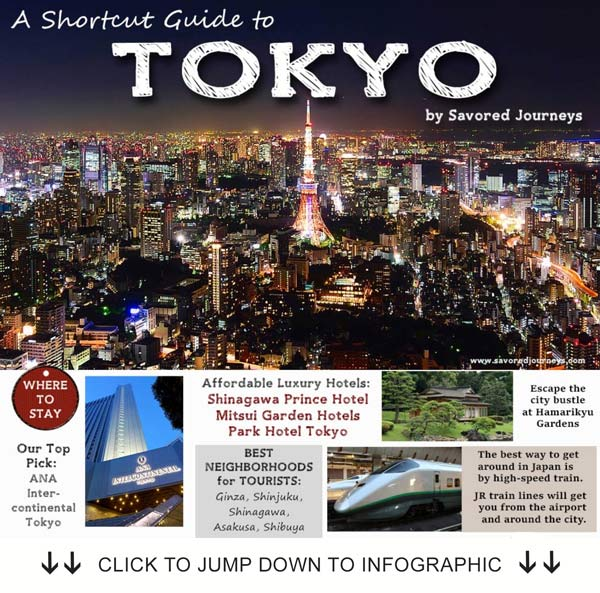 shortcut travel guide to Tokyo